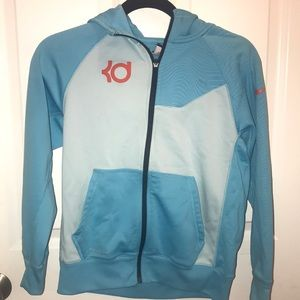 KD nike therma-fit boys zip-up